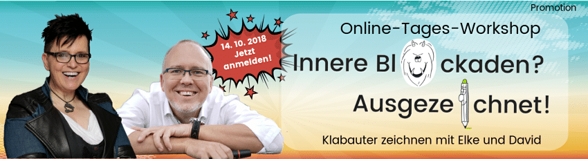 Online-Workshop Klabauter zeichnen