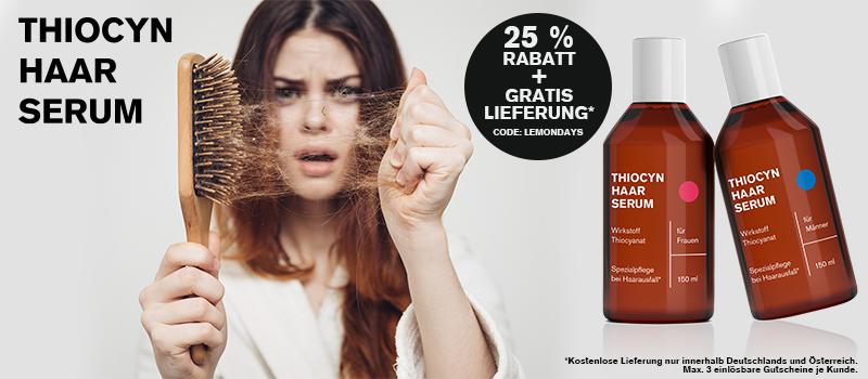 Thiocyn gegen Haarausfall in den Wechseljahren