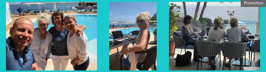 Auszeiten für Frauen - Schreibcamp Mallorca