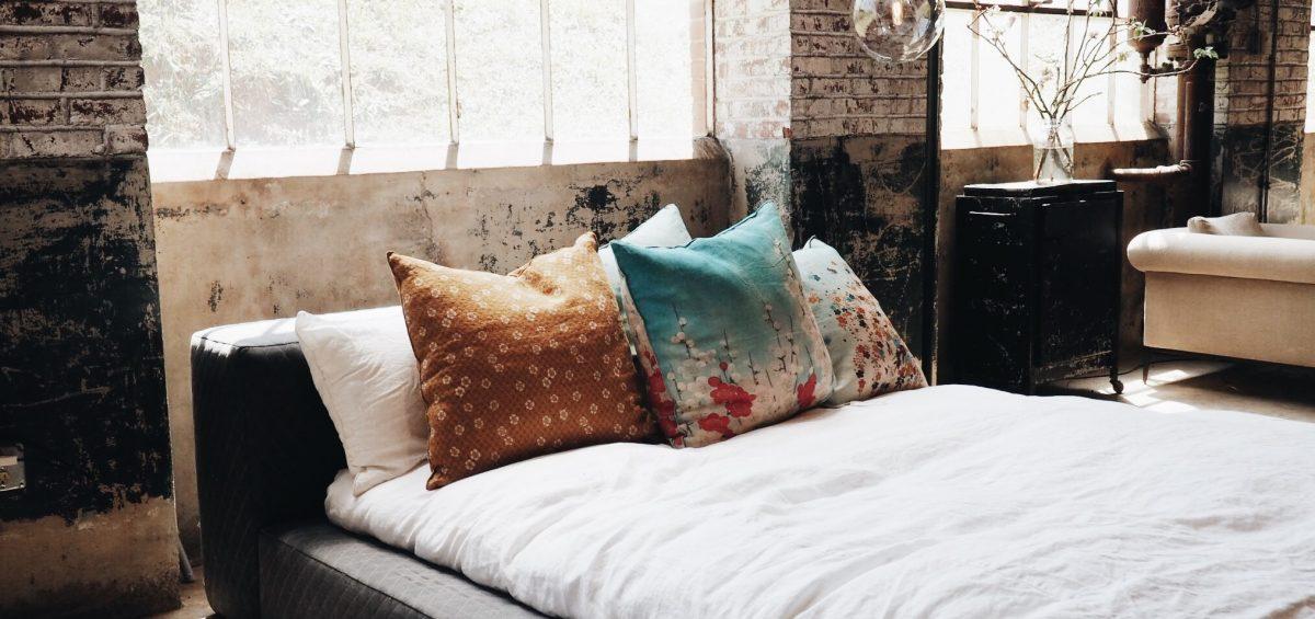 Schlafzimmer in den Wechseljahren