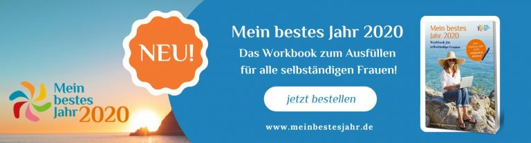 Jahresplanung Workbook Mein bestes Jahr