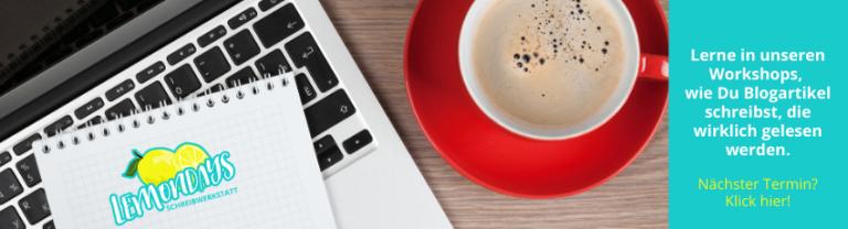 Schreibworkshops für Blogger