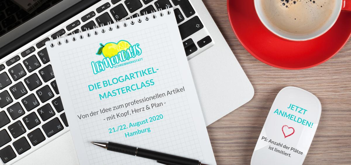 Workshop für Blogger