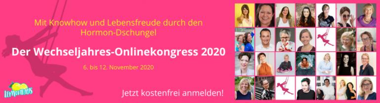 Wechseljahre Onlinekongress 2020