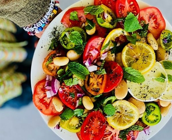 Sommer Salat Petra Orzech